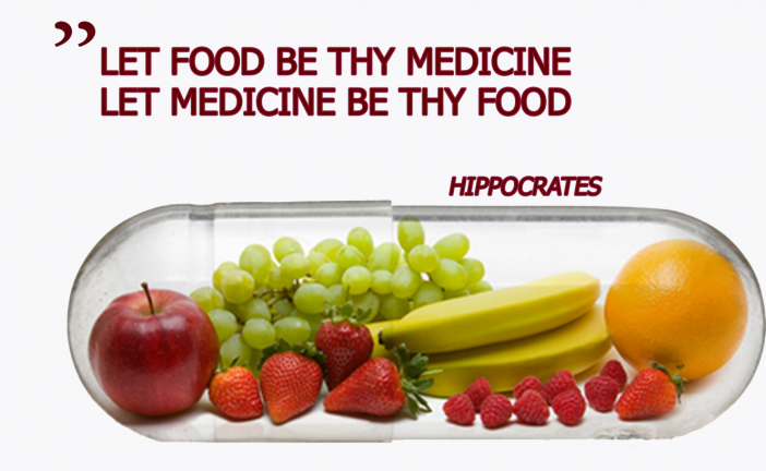 Fruits And Vegetables Instead Of Drugs