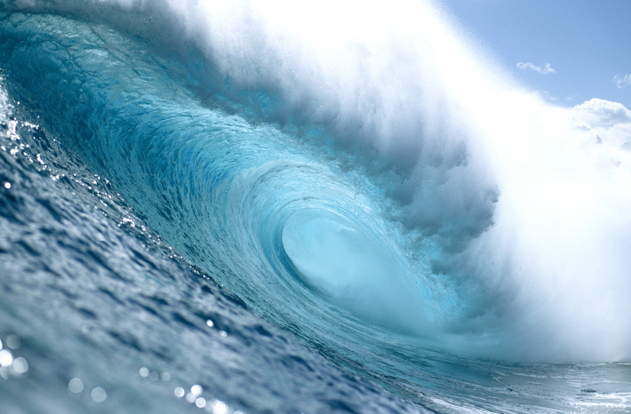 first renewable energy from a wave power array