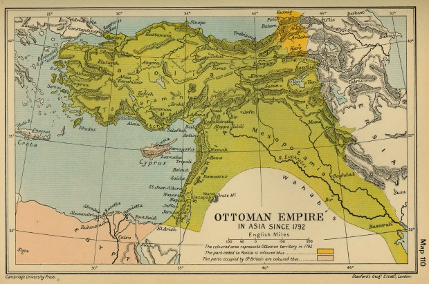 the ottoman empire in 1792