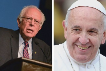 Bernie Sanders About Climate Change In Vatican City