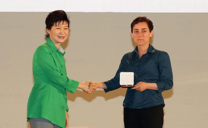 """First Woman To Ever Win The """"Nobel Prize"""" Of Mathematics"""